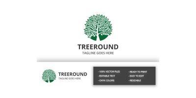 Tree Round Logo