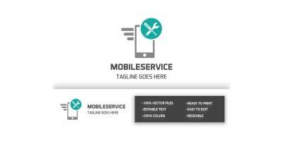 Mobile Service Logo