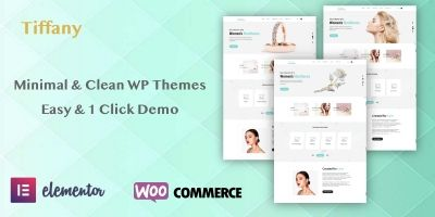 Tiffany - Responsive Premium WordPress Templates