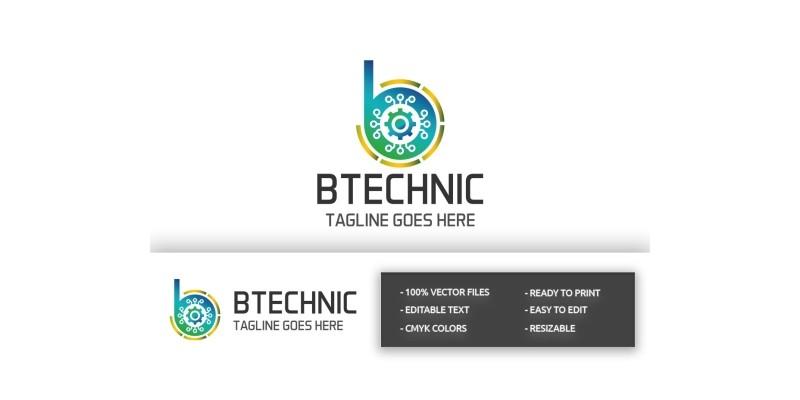 B technic Letter B Logo