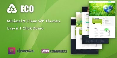 Eco Pro - Responsive Premium WordPress Template