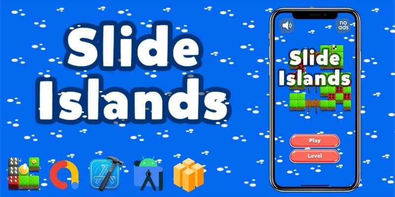 Slide Islands - Buildbox Template