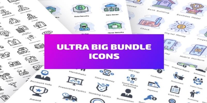 Mega Ultra Big Bundle Icons