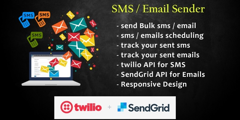 SMS Email Sender