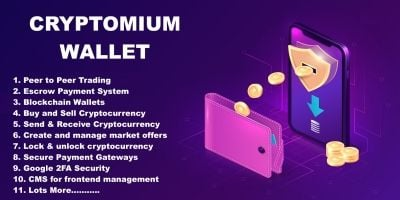 Cryptomium - Crypto Wallet System