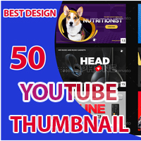 50 Youtube Thumbnail Designs
