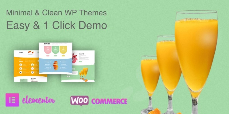 Juicebar Pro WordPress Theme