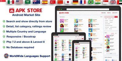 ​APK Store - Android Market Site PHP