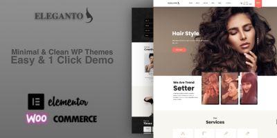 Eleganto Pro - Beauty Salon responsive WPTheme