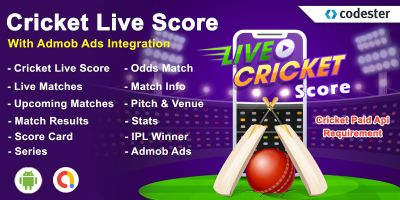 Android Cricket Live Score App