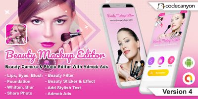 Beauty Makeup Editor- Android Source Code