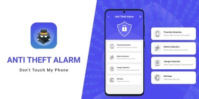 Anti Theft Alarm – Android App Source Code