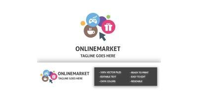 Professional Online Market Logo
