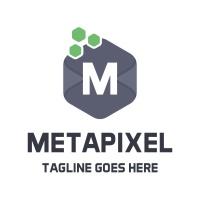 Meta Pixel Letter M Logo