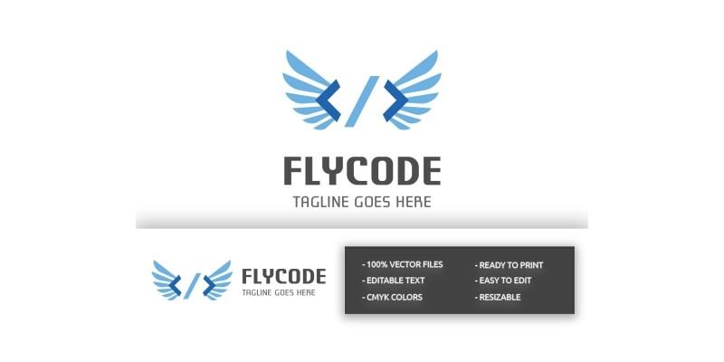 Fly Code Logo