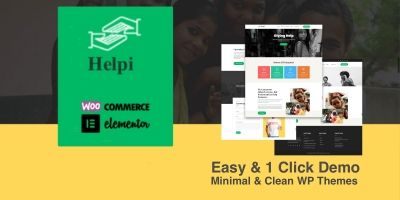 Helpi Pro - Charity Responsive WP Theme