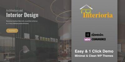 Interioria Pro - Responsive WordPress Theme