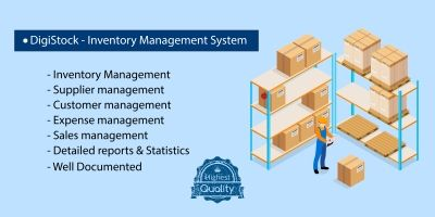 DigiStock - Inventory and POS Management System