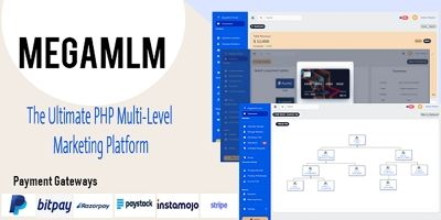 MegaMlm - The Ultimate PHP MLM Platform