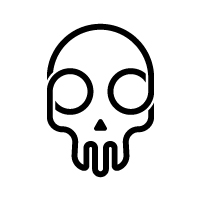 Skull Logo Template