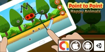 Point to Point Unity Kids Game