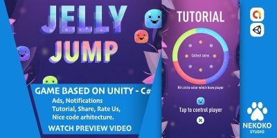 Jelly Jump - Unity Source Code