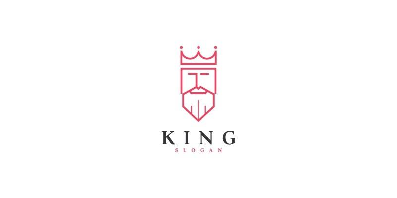 King logo template