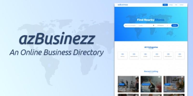 AzBuzinezz - An Online Business Directory PHP