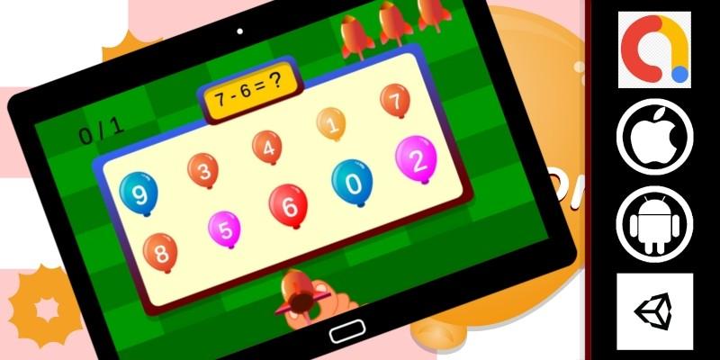 Edukida - Darts And Balloon Kids Game