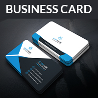 Corporate And Abstract Business Card  Template