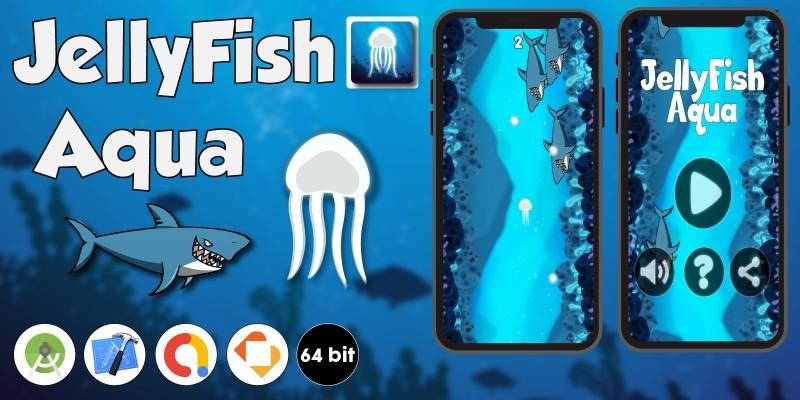 JellyFish Aqua - Buildbox Template