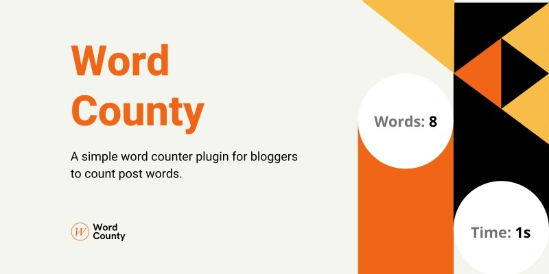 Word County -  A Simple Word Counter For WordPress