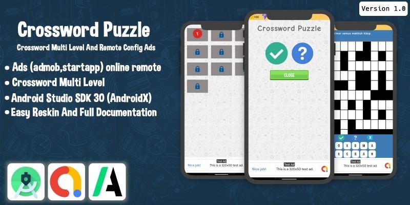 Crossword Puzzle Android Studio