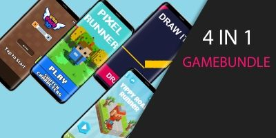 Unity Casual  Game Bundle 4 In 1