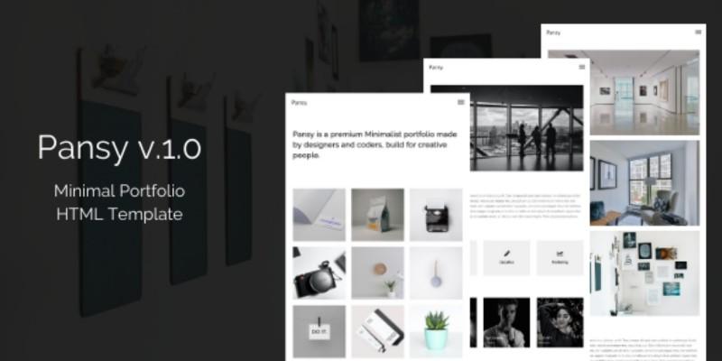 Pansy - Minimal Portfolio HTML Template
