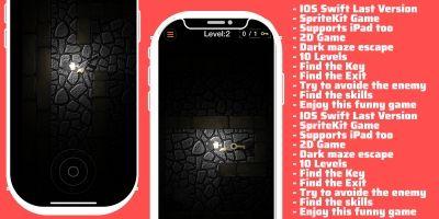 Bigle - Darm Maze Runner iOS Source Code