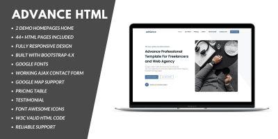 Advance - Multipurpose Business HTML template