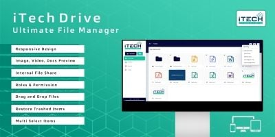 iTech Drive - Ultimate File Manager