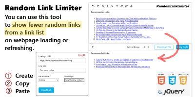 Random Link Limiter JavaScript