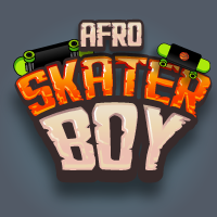 Afro Skater Boy 2D Spine Game Character Sprites