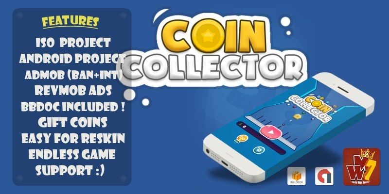 Coin Collector - Buildbox Template