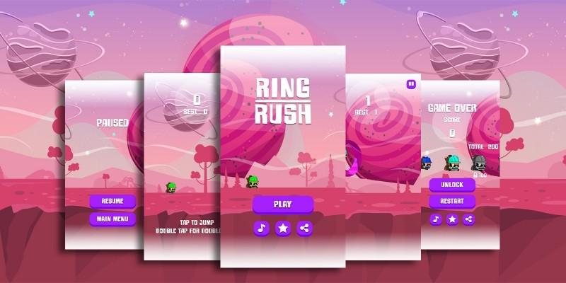 Ring Rush Buildbox Template