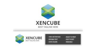 Xencube - X Letter Logo