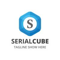 Serial Cube -Letter S Logo