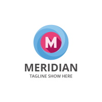 Meridian - Letter M Logo