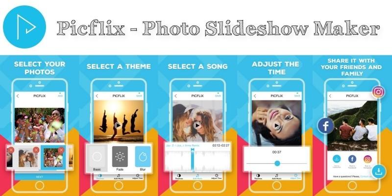 Picflix - Photo Slideshow Maker iOS