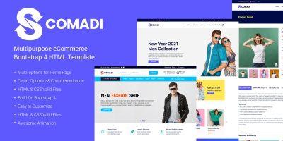 Scomadi - Multipurpose eCommerce Bootstrap 4 HTML