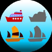 Edukida Ships Shapes Unity Kids Educational Game