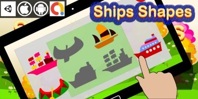 Edukida Ships Shapes Unity Kids Educational Game