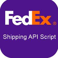 FedEx Shipping API integration PHP Script